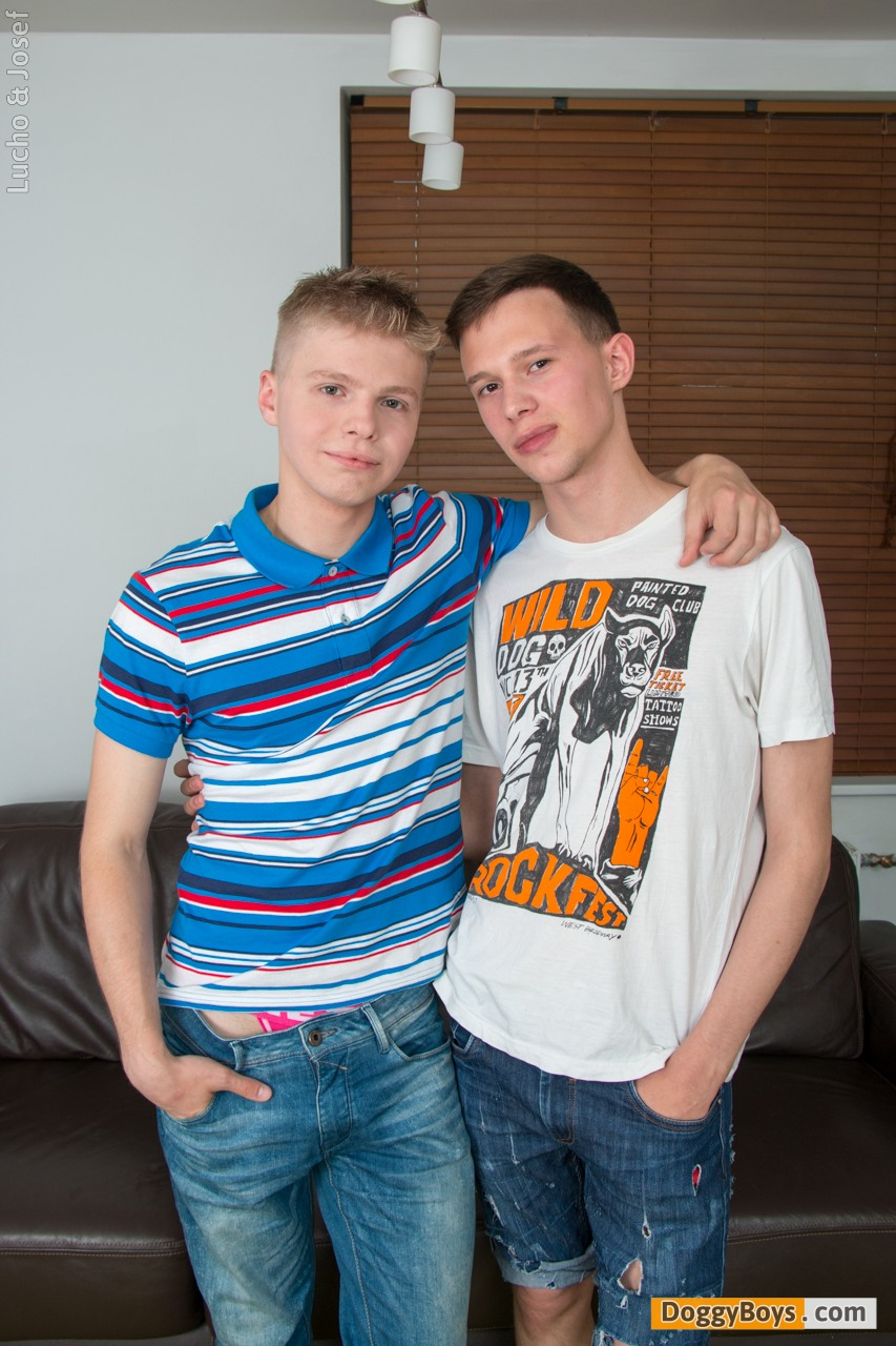 threesome Young gay twink