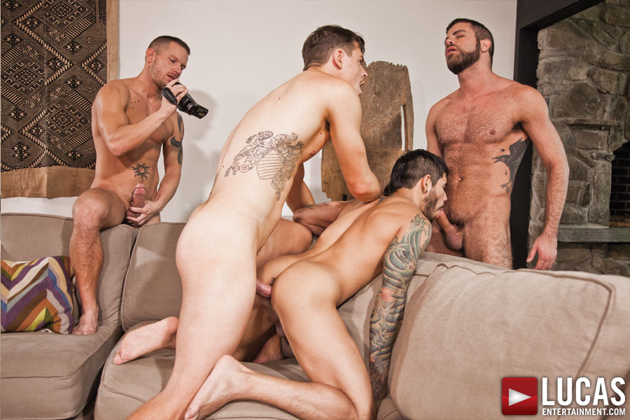 dinner party part 1 gay porn