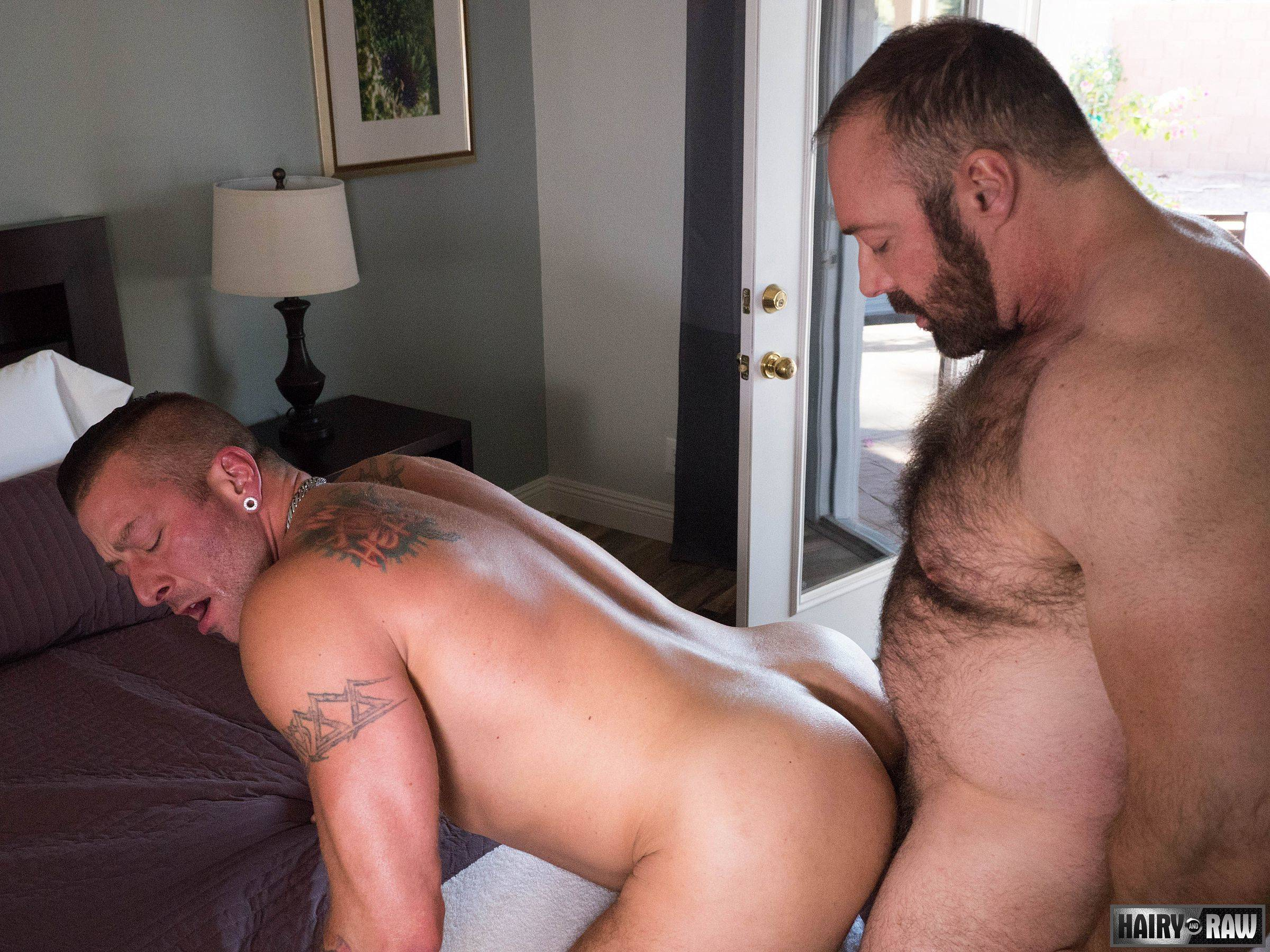 daddy gives son massage gay porn