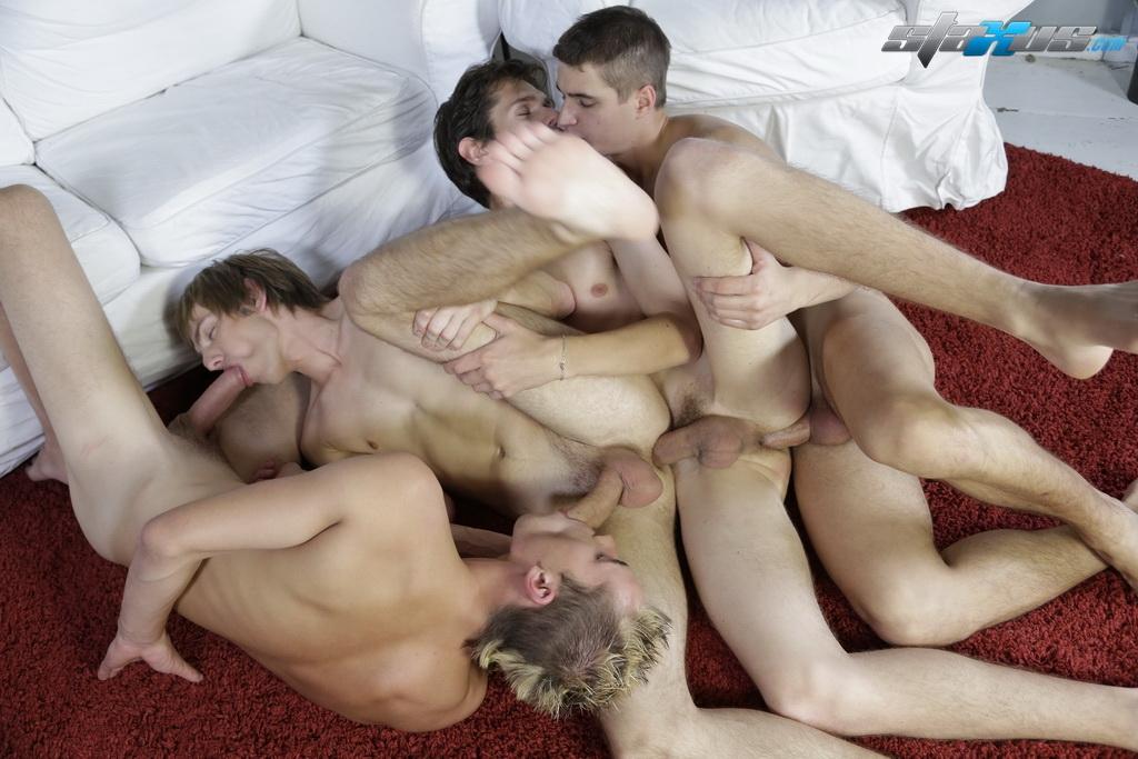 Порно Мальчики Геи Группа