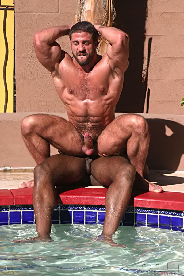 секс с мускулистым парнем фото